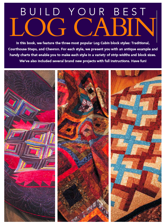 Sarcastic quilter ebooks by fons porter build your for Log home books