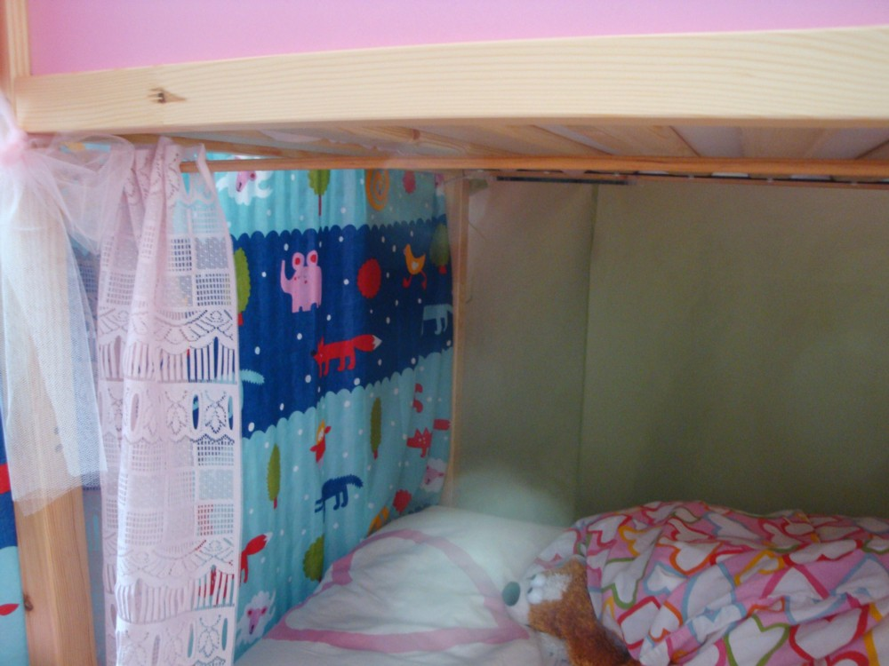 Tenda Per Letto A Castello Ikea : Diy a castle bunk bed letto a castello a creative anna