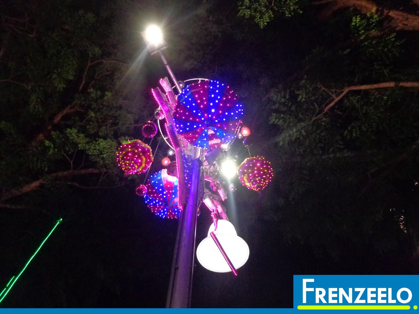 Frenzeelo: Orchard Road Christmas Light Up 2015