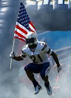 LaDanian Thomlinson USA flag