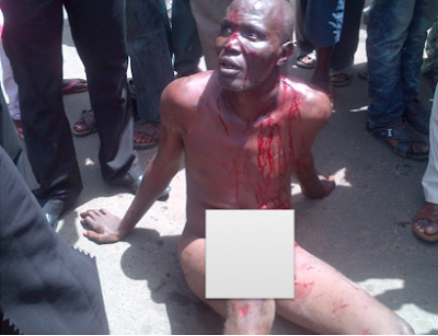 effiong eton robbery suspects almost beaten to death in ilorin by angry mob. Black Bedroom Furniture Sets. Home Design Ideas
