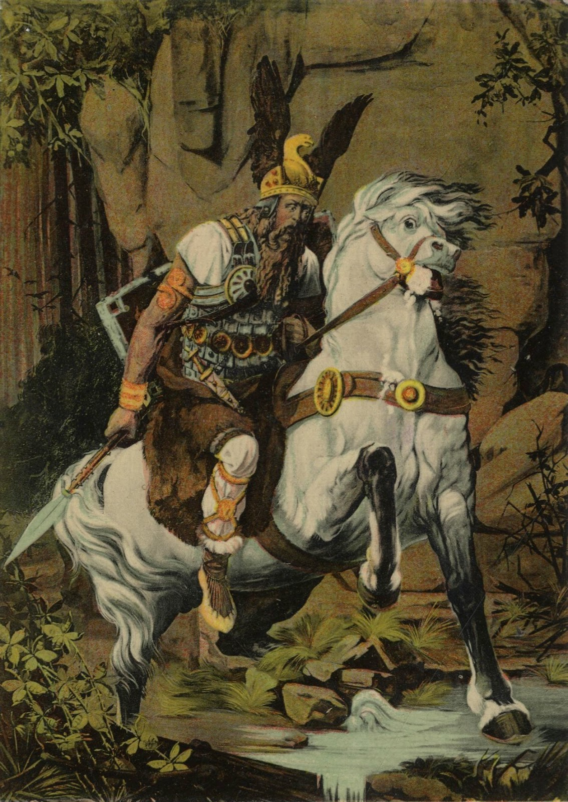 beowulf religion Beowulf's victory is couched in medieval christian imagery, and his motivations and successes are aligned with the medieval christian idea of god and righteousness, while grendel is depicted as.