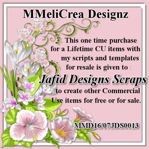 MMeliCrea Designz CU4CU License