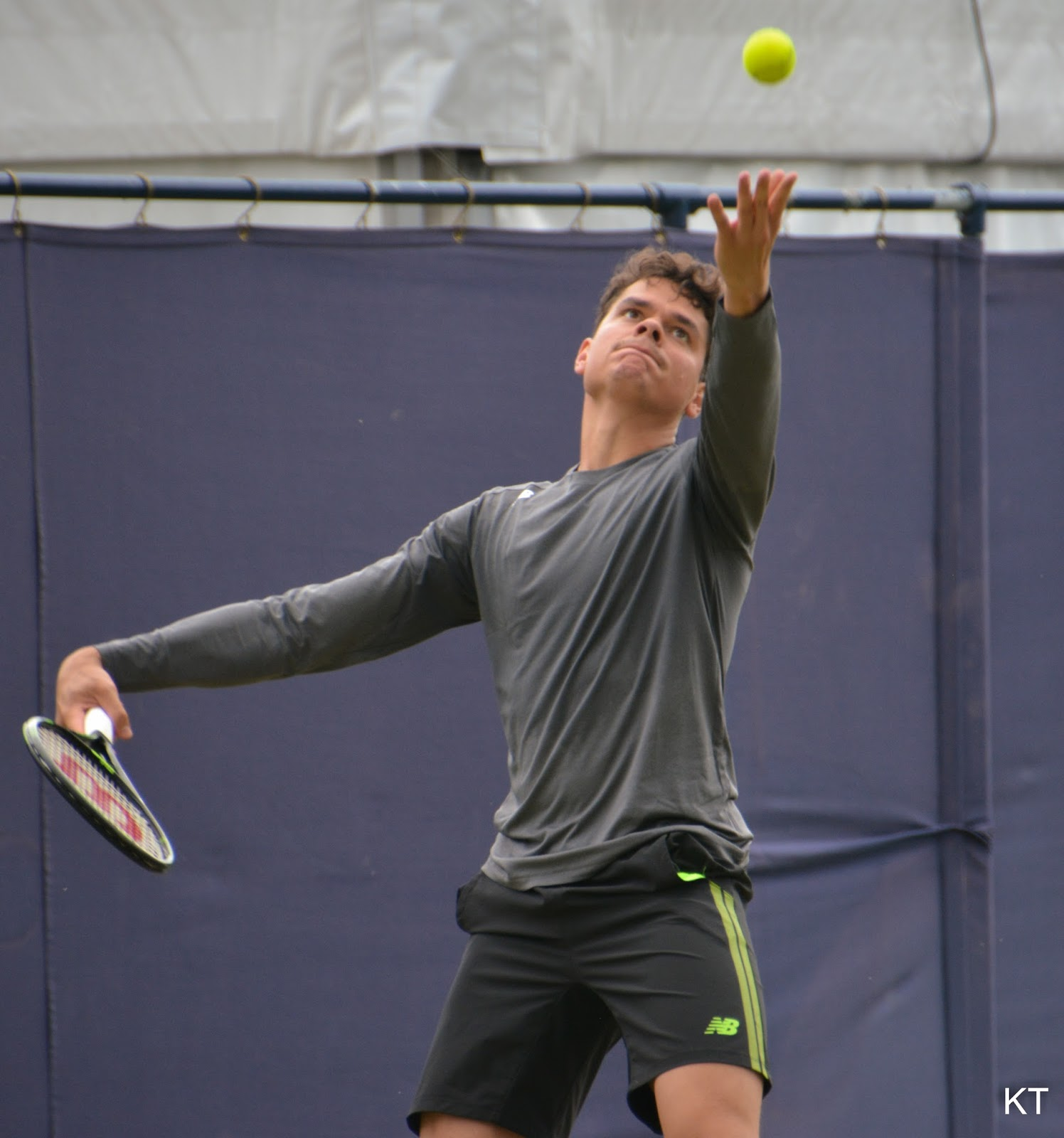 Offside Sports: Raonic Will Begin New Season With New Coach Ljubicic Serve