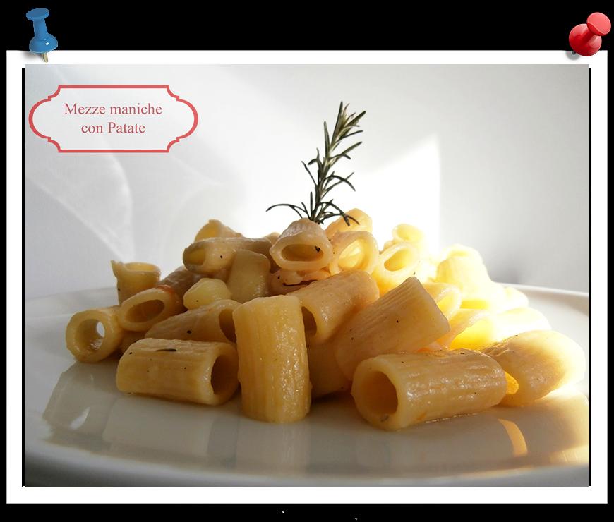 Mezze maniche con patate imparare l 39 arte della cucina - Imparare l arte della cucina francese ...