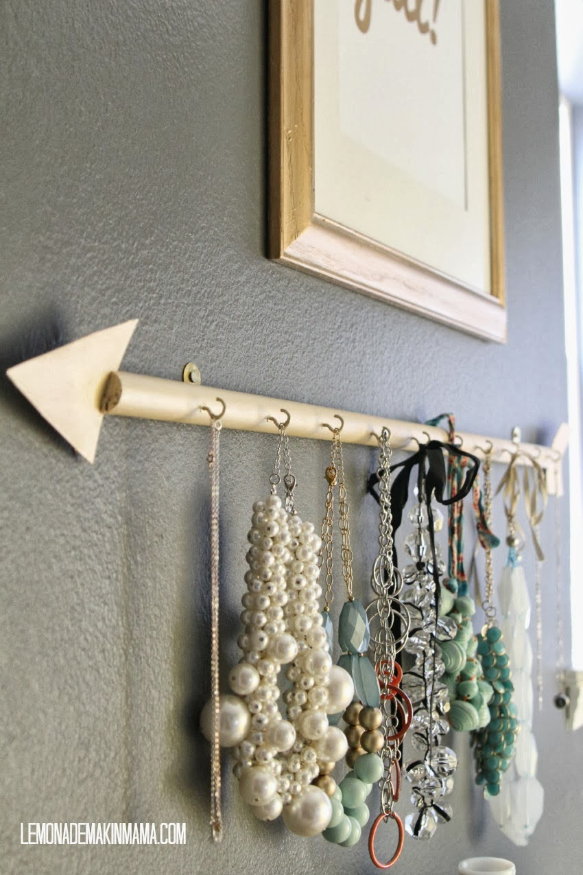 Diy Jewelry Holder Diy Arrow Jewelry Holder Lifeingrace