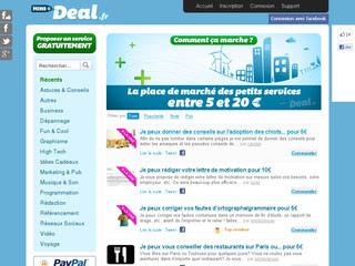 MiniDeal : acheter ou vendre un service à tout petit prix bon plan