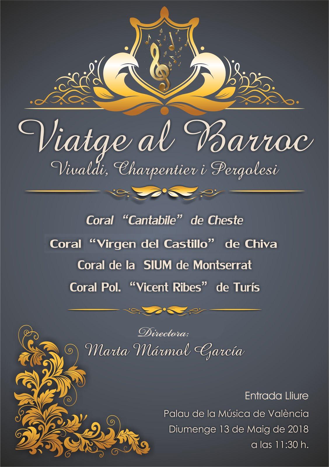 Concert de la coral Vicent Ribes al Palau de la música