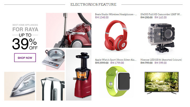 Some featured electronics on GEMFIVE to simplify your shopping experience