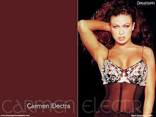 Super Model Carmen Elektra