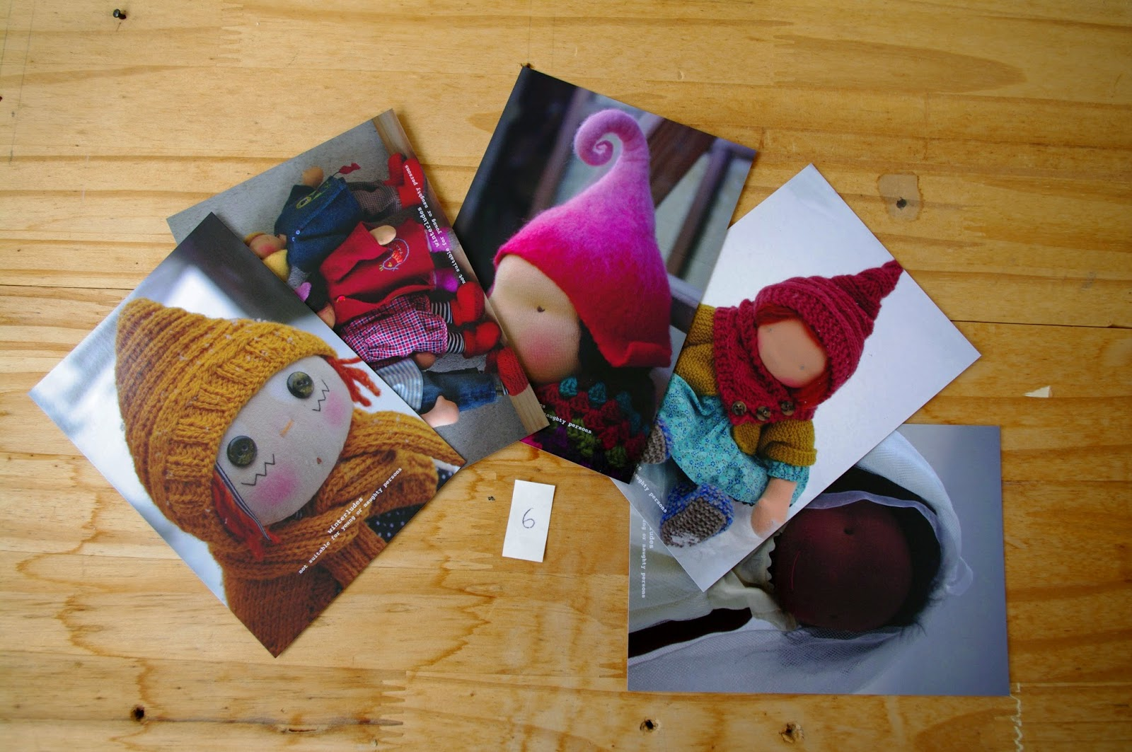 postcards set #6
