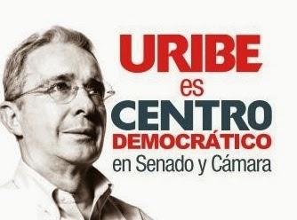Uribe es Centro Democrático | Copolitica