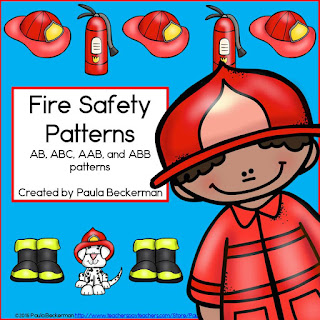 https://www.teacherspayteachers.com/Product/Fire-Safety-Patterns-1984832