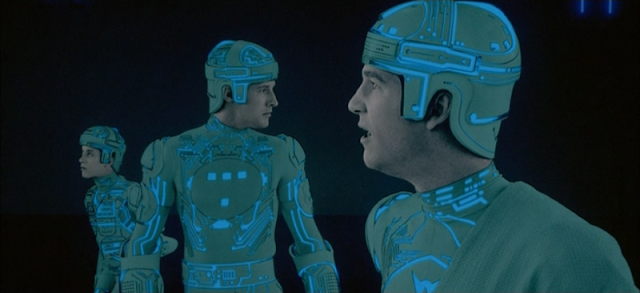The cool costumes of TRON