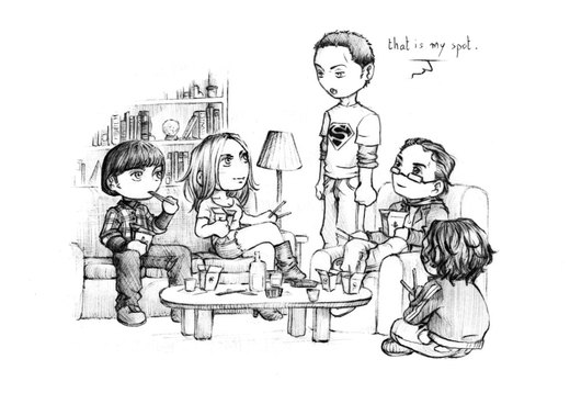 The Big Bang Theory - chibis por nami86