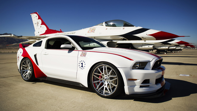 2014 Ford Mustang U.S. Air Force Thunderbirds Edition