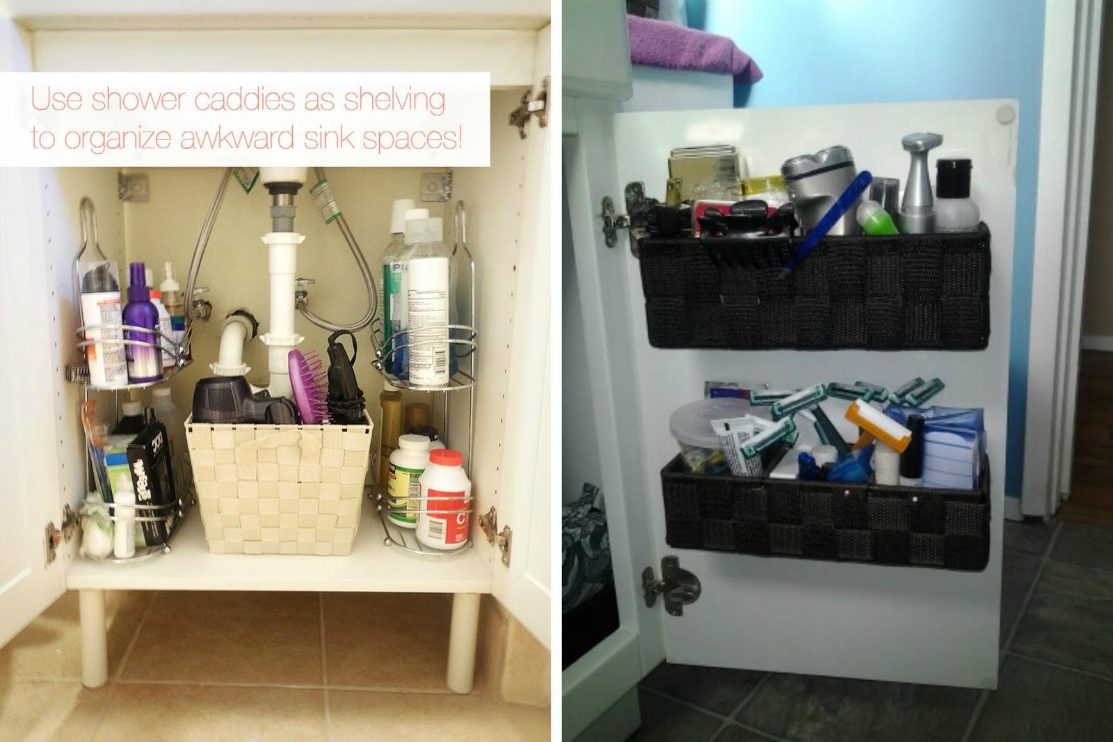 Under Bathroom Sink Organizer Acrylic Bathroom Storage