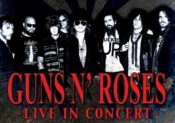 beli tiket konser,cari tiket konser,harga tiket konser Beli Tiket Konser Guns N' Roses