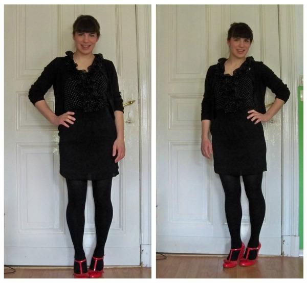 30 Kleidungsstücke für 30 Tage ergeben 30 verschiedene Outfits Tag 24