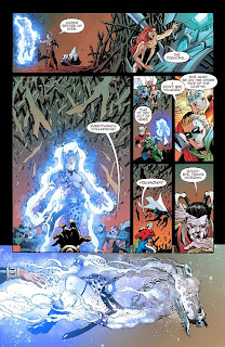 Page 21 of Convergence #5 from DC Comics