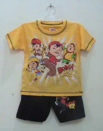 baju kartun anak boboi boy