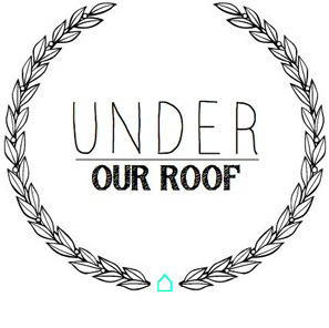under our roof.