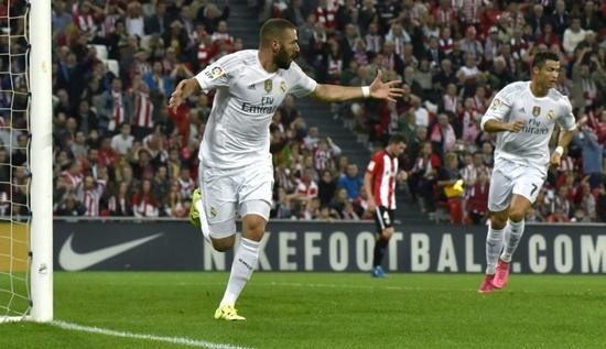 Athletic Bilbao 1 x 2 Real Madrid - Campeonato Espanhol(La Liga) 2015/16