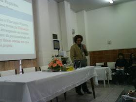 Palestra com Georgina Valente