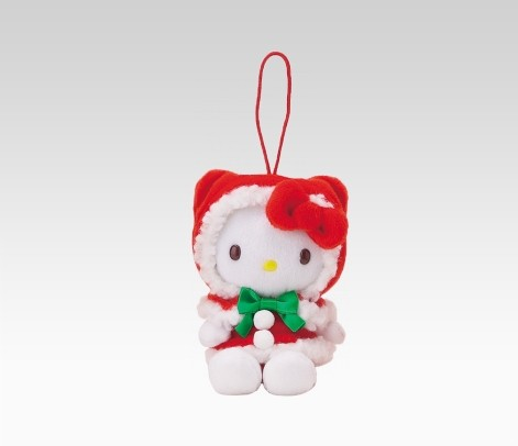 Hiasan Hello Kitty yang dapat digunakan untuk menghiasin pohon natal