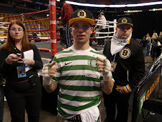Welterweight contender Danny O'Conner at the Boston Garden in 2013