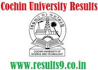 CUSAT EIE VIII Semester Results 2013