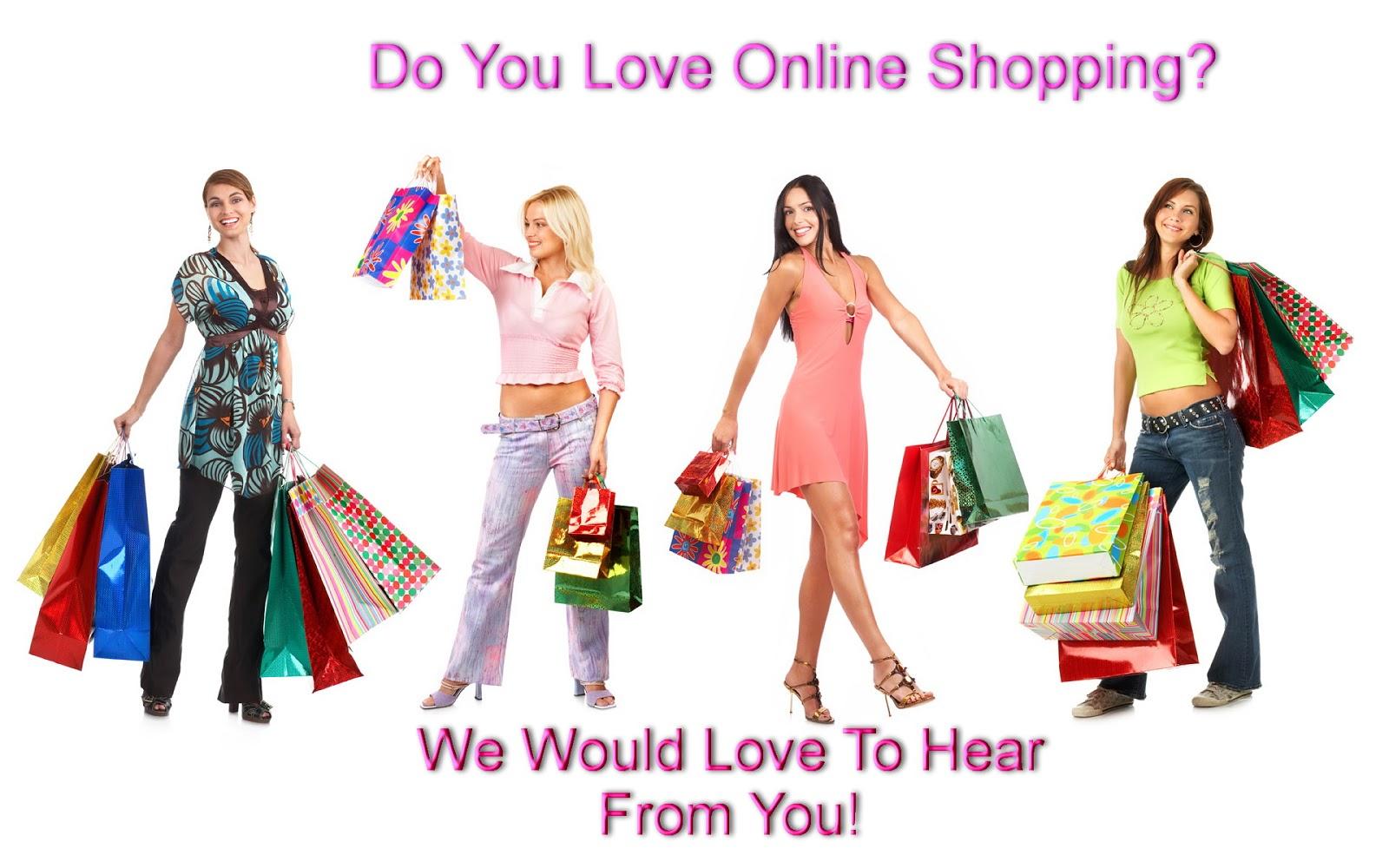 Lovers shop online