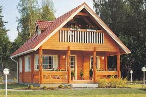 Contoh Gambar Model Desain Rumah Kayu Minimalis