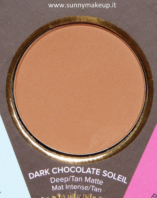 Too Faced - The Little Black Book di Bronzer. Dark Chocolate Soleil.
