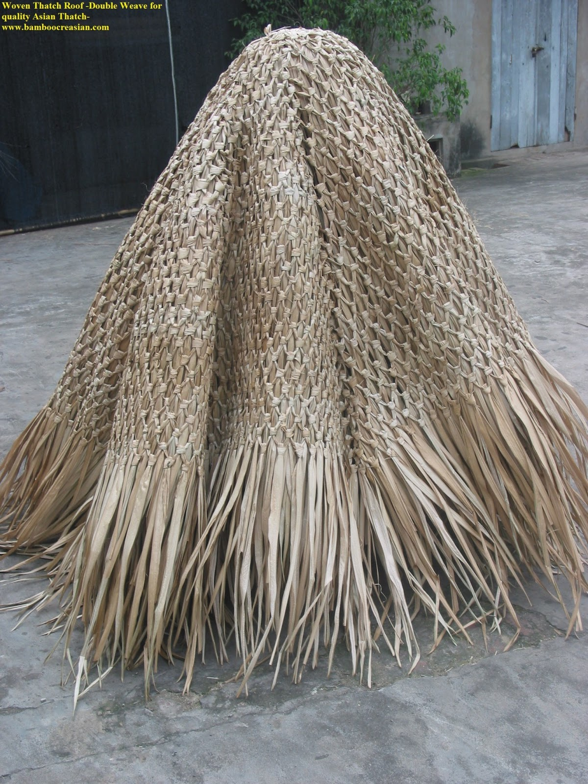 20 Ft(diameter Palapas Tiki Hutu0027s Roof) OfThatchu0027s Cover 2 Ft X 30ft Palm  Palapas U0026Tiki Hut   Thatching Roll 2.1/2 Ftx 30ft Grade A Palapas U0026 Hut U0027s  Roof ...