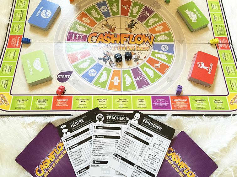 Rich Dad Cash Flow board game