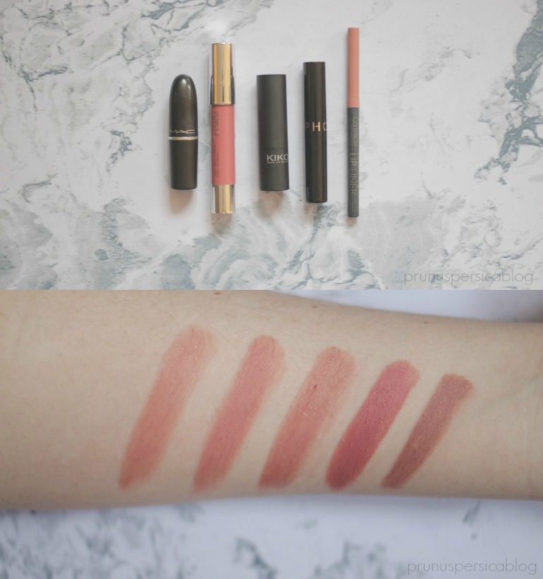 Nude Lipstick/Gloss Edition for WOC (MAC, NYX, WET N WILD