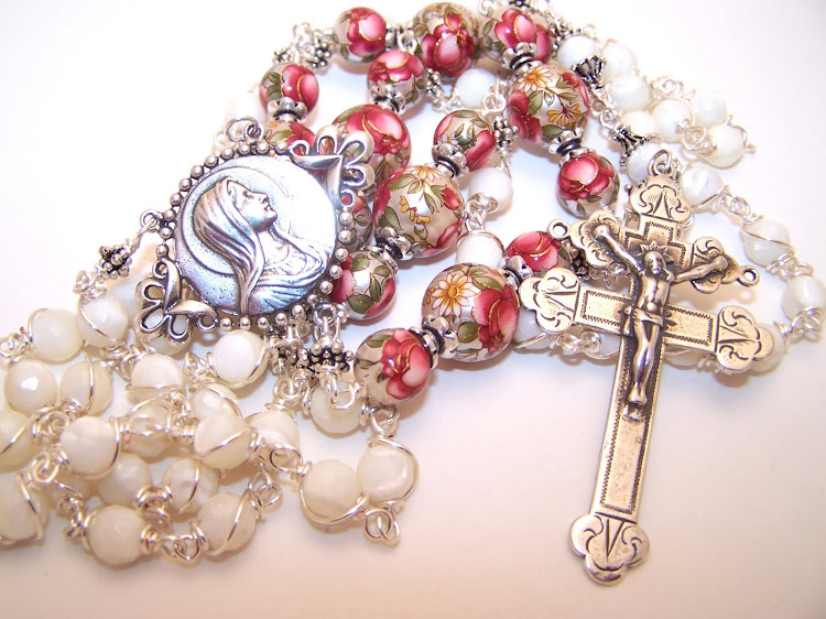 No. 30.  (SOLD) Rosary Given to St. Dominic by the Virgin Mary