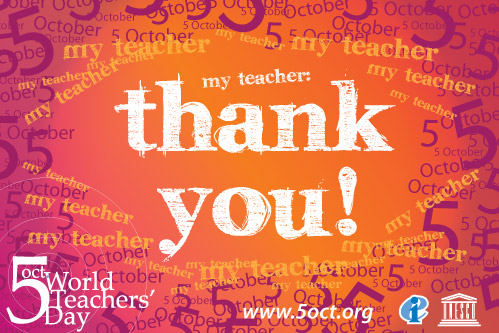 Pacer post october 2011 thursday october 5th was world teacher day a time to recognize the commitment and important contributions that teachers make in an increasingly complex m4hsunfo