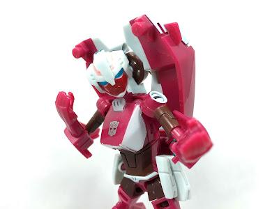 Transformers animated deluxe arcee rare prototype