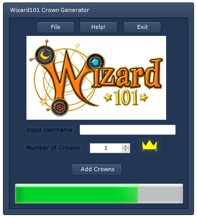 wizard101 crowns generator no survey no download