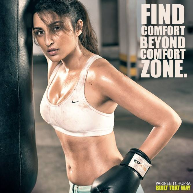 Parineeti Chopra as Boxer photoshoot, Parineeti Chopra gym photoshoot pictures