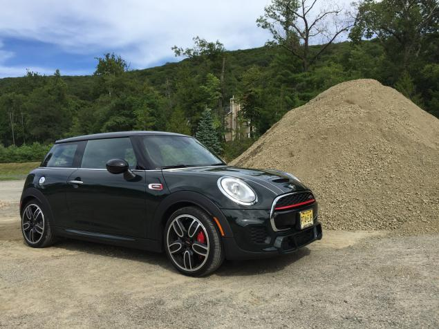 2016 New MINI Cooper Design by Jhon works front side view