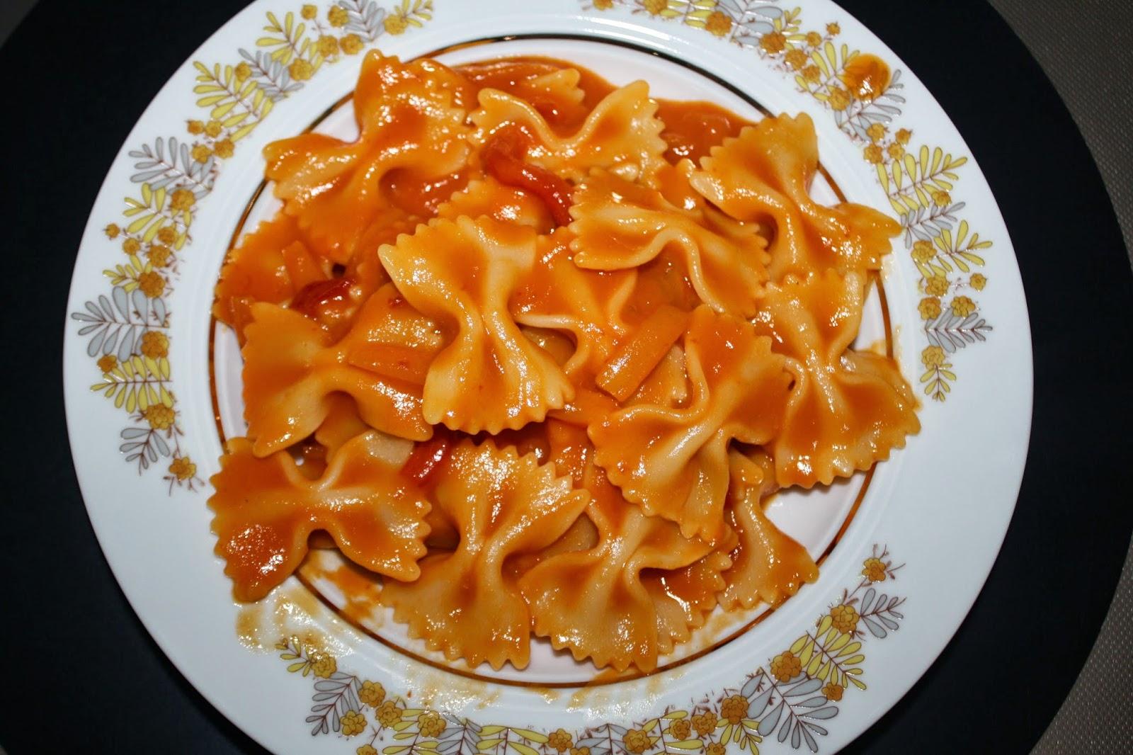 ricetta pasta peperoni