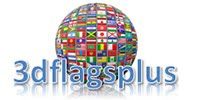 3D Flags - Animated waving flags of the world, pictures, icons