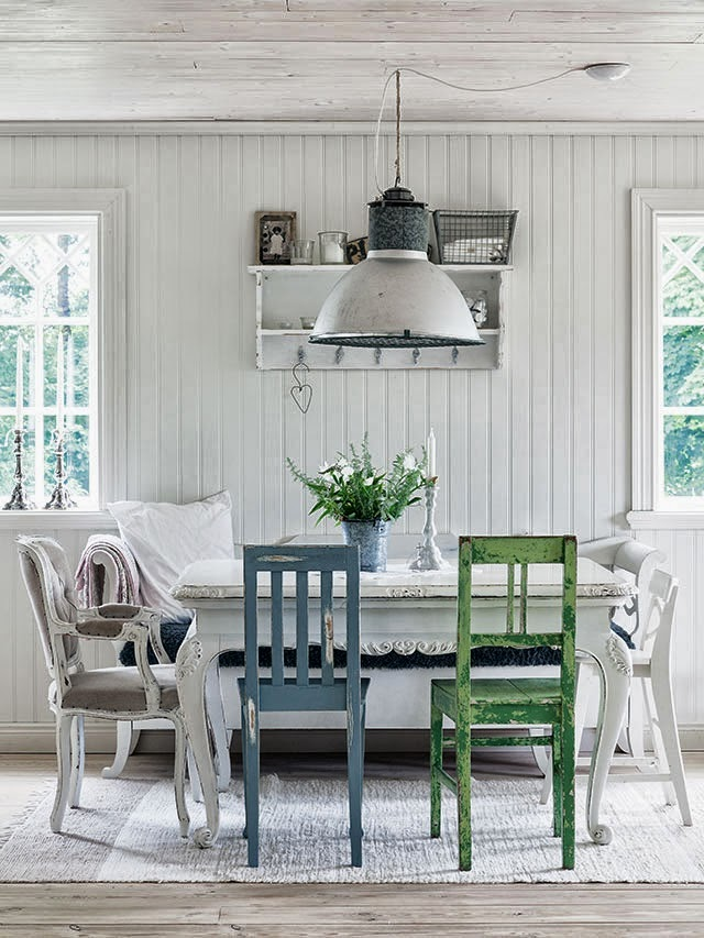 Decoraci n f cil una casa de campo vintage r stica en suecia for Decoracion casa vintage online