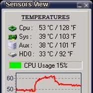 برنامج sensorsview 2014 لمعرفة حرارة الكمبيوتر اخر اصدار
