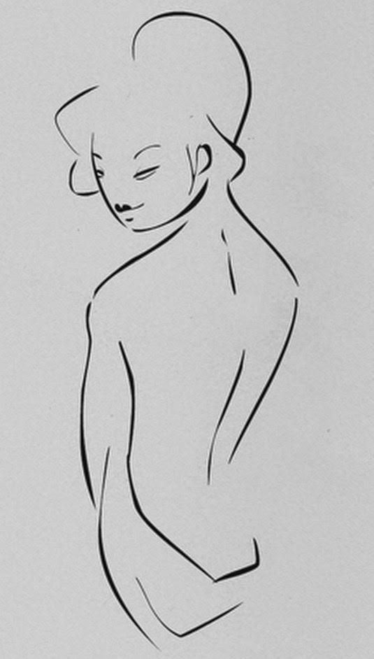 dibujos-faciles-a-lapiz-mujeres