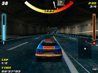 Racing Thunder HD Game Symbian s60v3