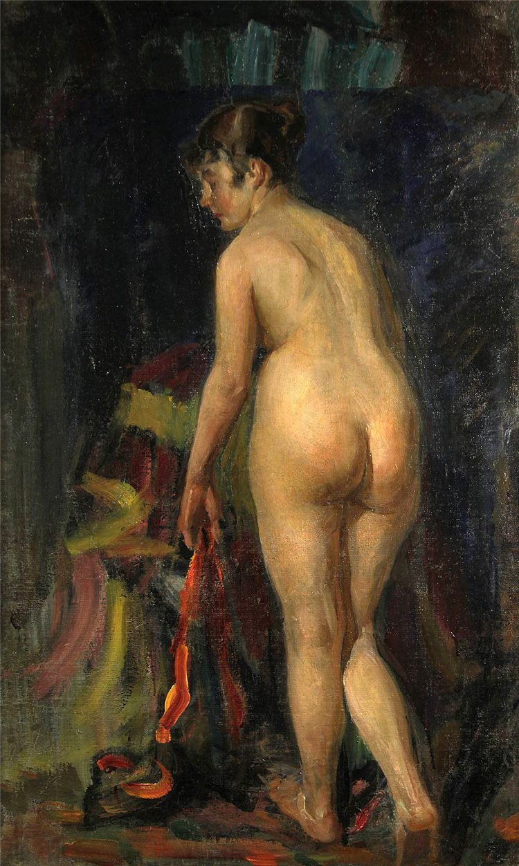 Vitali Gavrilovitch Tikhov [Тихов Виталий Гаврилович] 1876-1939 - Ukrainian Nude painter